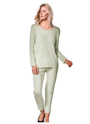 Doremi Kadın Pijama Takımı Yeşil